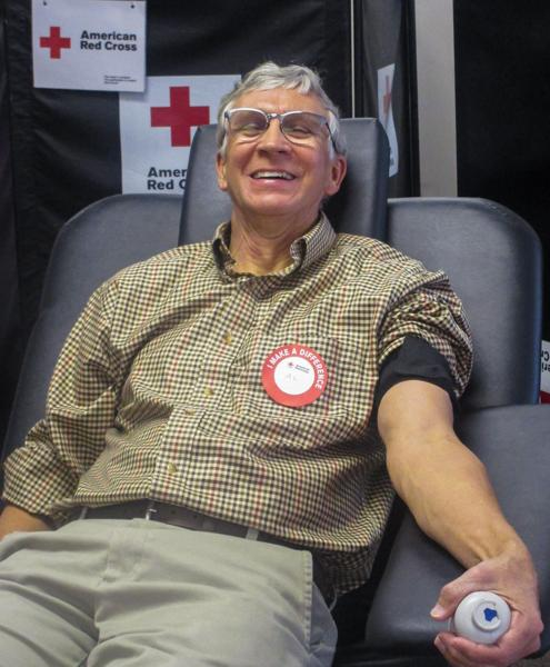 Photo from Blood Drive in 2017