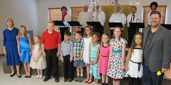 Children's Community Choir Spring Presentation