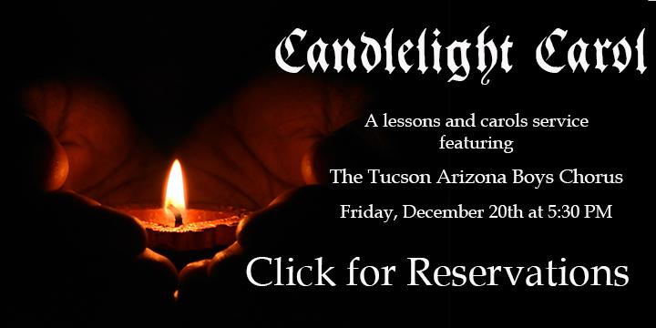 Candlelight Carol Dec 20, 2019 at 5:30pm
