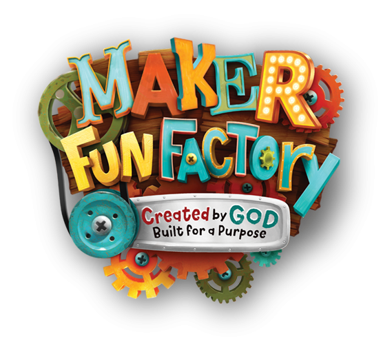 Vacation Bible School Maker Fun Factory Logo