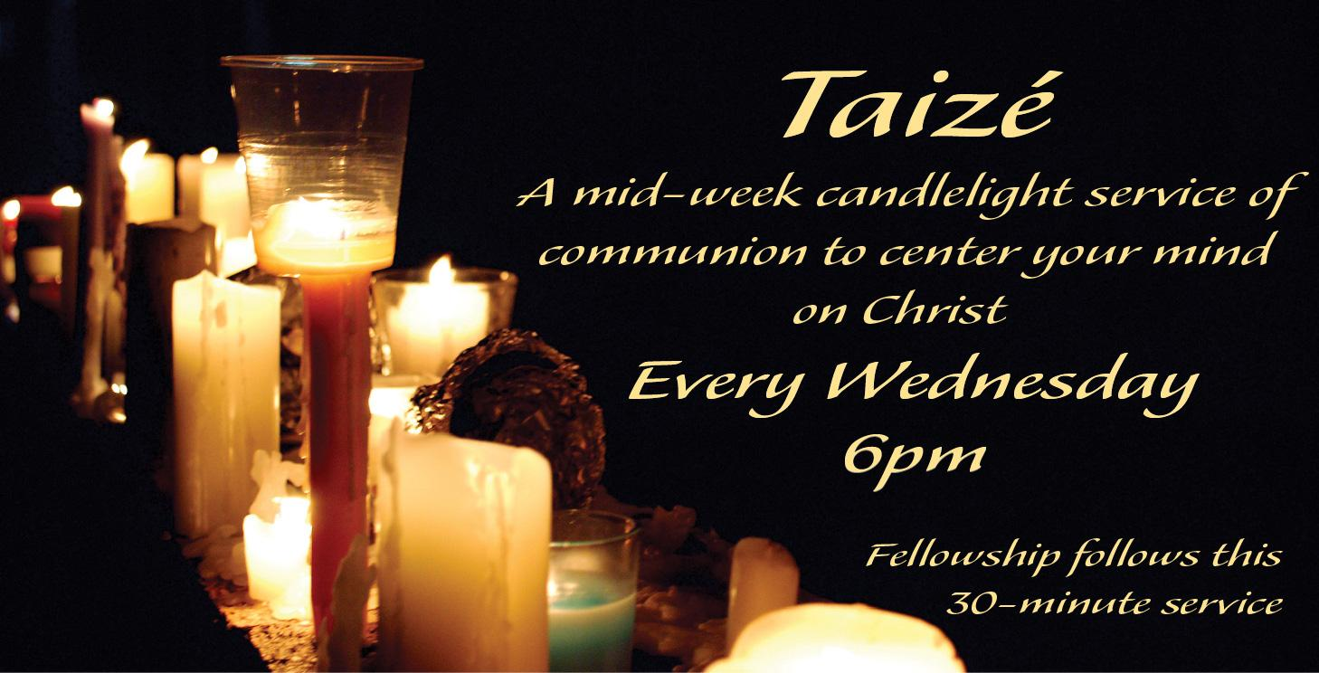 Taizé midweek evening service