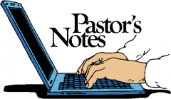 Pastor notes